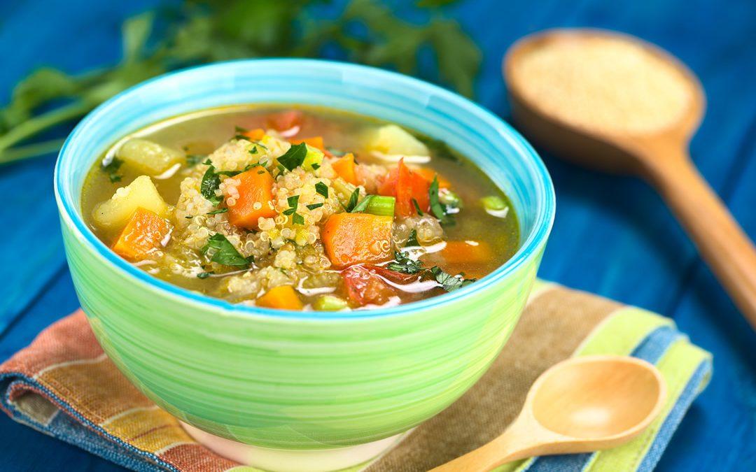 Peruvian Quinoa Soup Recipe for Sassy Comfort Food
