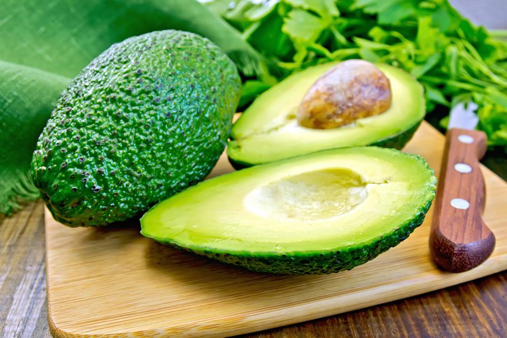 Avocado Chimichurri on Cucumber Slices Recipe