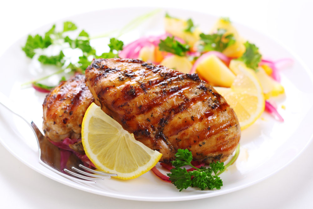 Fire up your grill! Easy chicken Food Sass®.