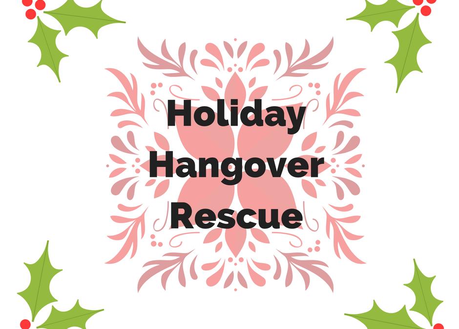 Holiday Hangover 911