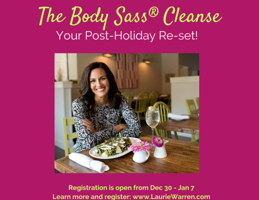 Re-set your body and feel better in January.