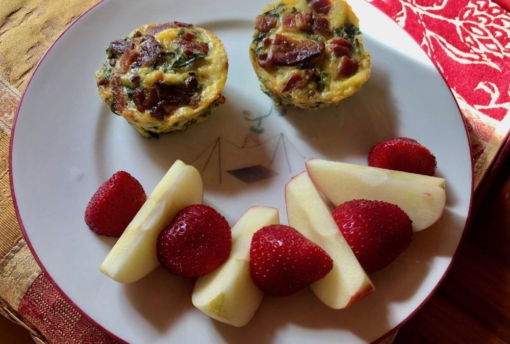 Healthy, tasty and quick. Breakfast is served!