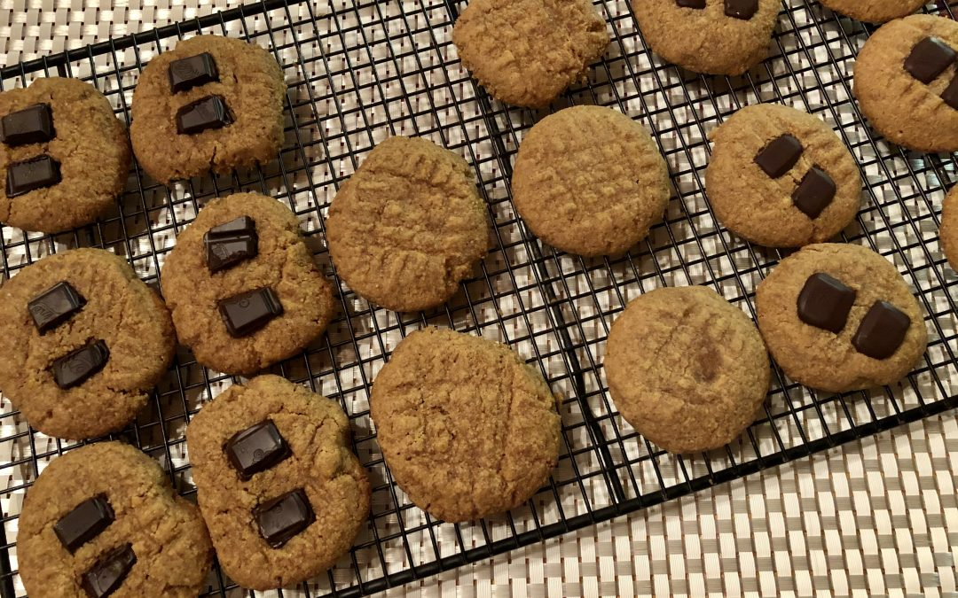 Get happy and healthy with peanut butter cookies